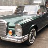 Meticulous work on a rare Mercedes Benz