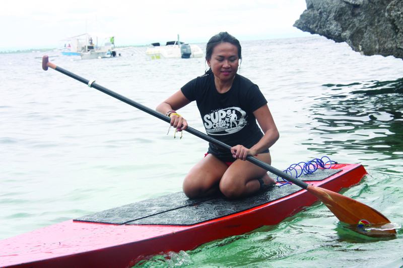 SUP (how to paddle kneeling )-01