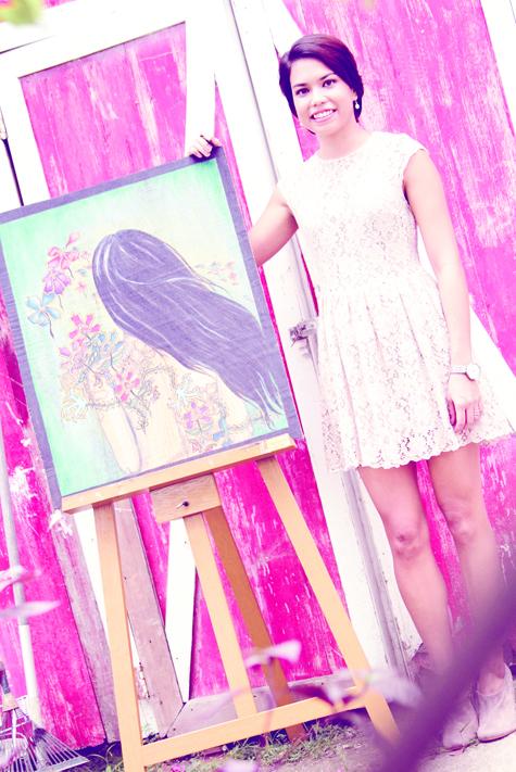 Hannah Martinez, a mentor of colors