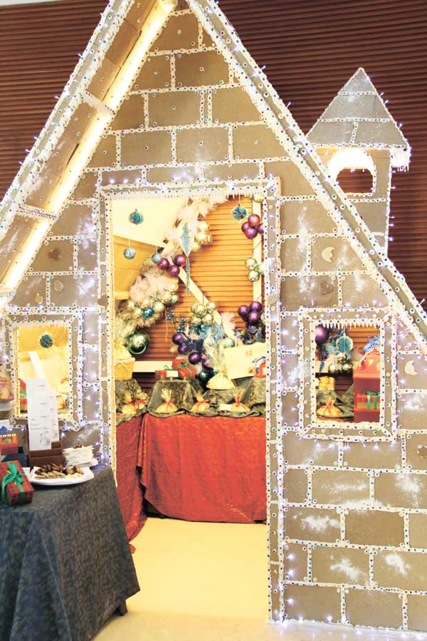 Inside the Gingerbread House