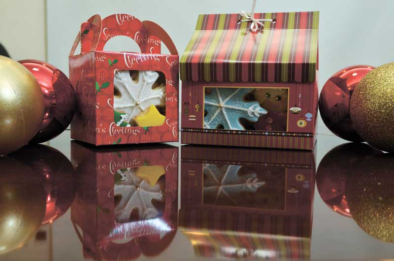 Cupkeyk N Art's sugar cookies come in either boxes of 12 or 24. (Sun.Star Foto/Amper Campaña)