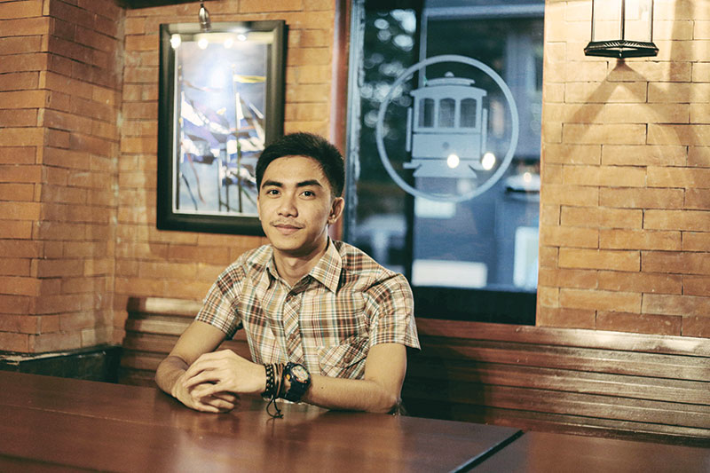FINDING CEBU. With a slightly rebellious nature, Apollo Santos ventured from his hometown in Zamboanga Sibugay three years ago, wanting to strike his luck as an independent young man. He now calls Cebu his second home.