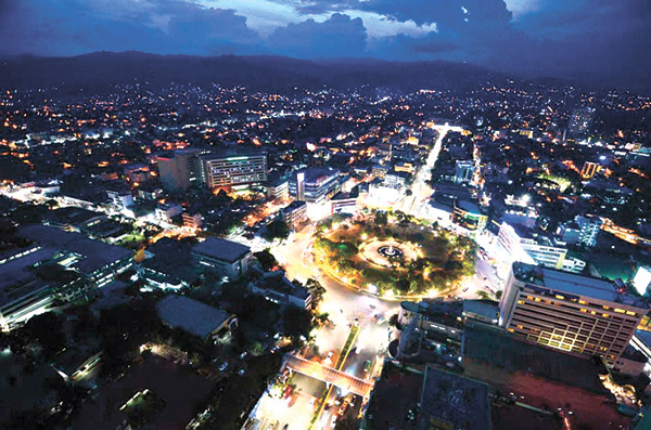 BUSTLING CEBU. Apart from breath-taking vistas, Cebu offers a lot more: products, services and facilities that carry a mark of excellence. Behind all these, of course, are a talented, resilient people gifted with an entrepreneurial, innovative spirit.
