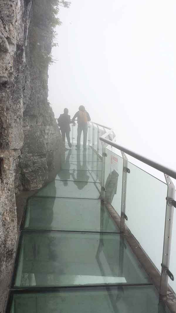 Tianmen Mountain Skywalk