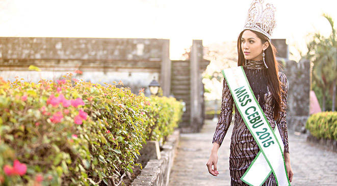 A MEANINGFUL REIGN. As Miss Cebu 2015, Wynonah Buot will participate in projects under the Cebu City Tourism Commission. She will also push projects for her own advocacy, the environment.
