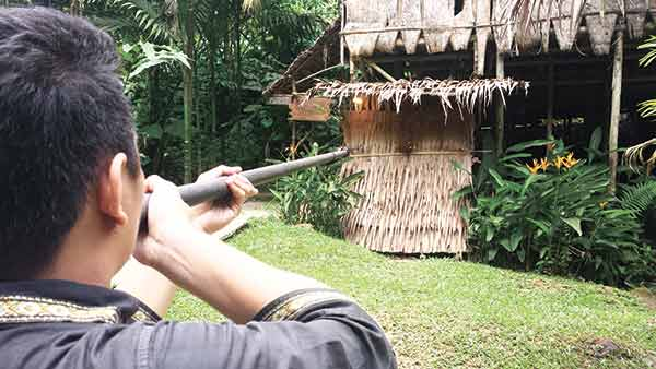 Blow dart from the Murut tribe