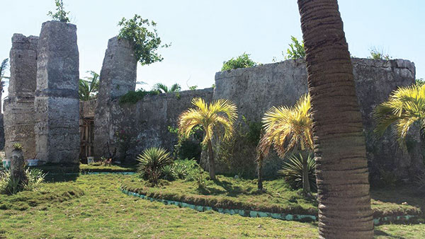 Fort at Kota Park in Madridejos town