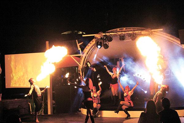 Ibiza show At The Movies