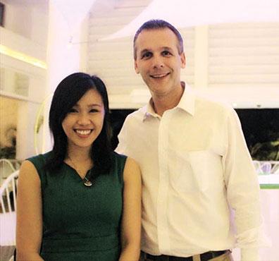 Meghann Sta. Ines Hernandez and Harold Rainfroy