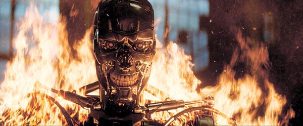 "Series T-800 Robot in ""Terminator Genisys"