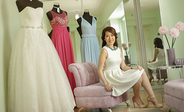 FASHION EXPRESS. Fashion is a way of expressing one's self, an outlet where people can show their personality and tastes through clothing choices. That pretty much sums up Valerie Yap's philosophy.