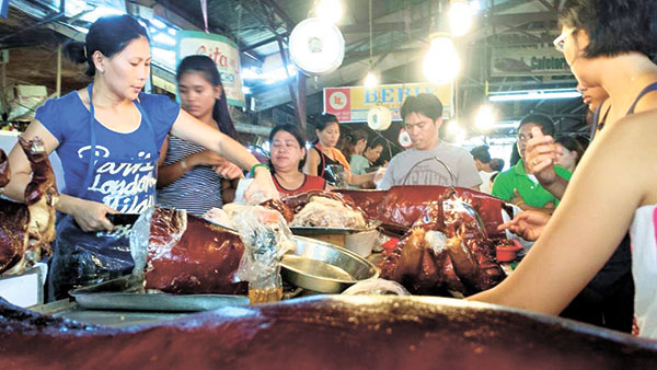 Lechon in Carcar City, Cebu