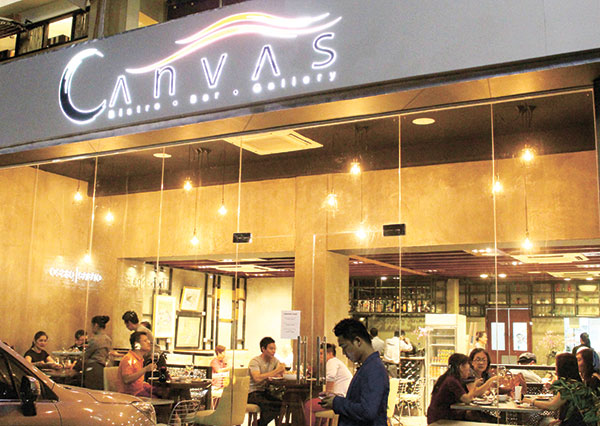 Canvas recently moved to its new location at Paseo One on Maria Luisa Road in Banilad.