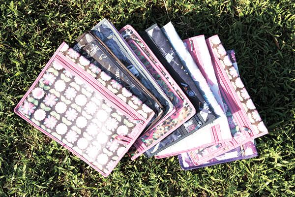 Cheeky Chic's versatile organizing envelopes