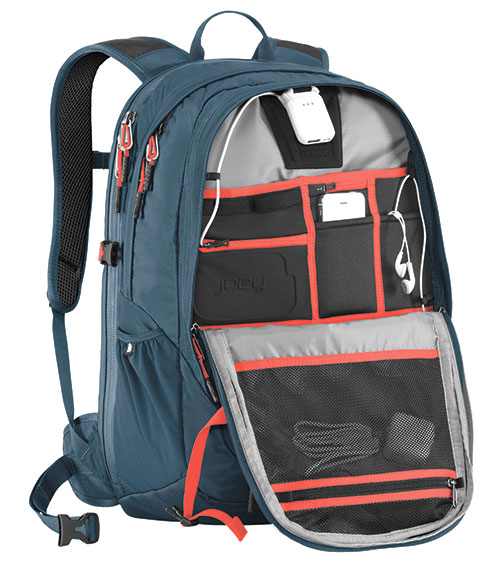 North Face Surge II Charged Laptop Backpack