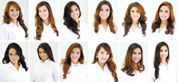 FINALISTS. Who among these finalists shall bring home the prestigious Miss Cebu 2016 crown? (PHOTOS/Dr. Erwin Lim Photography)
