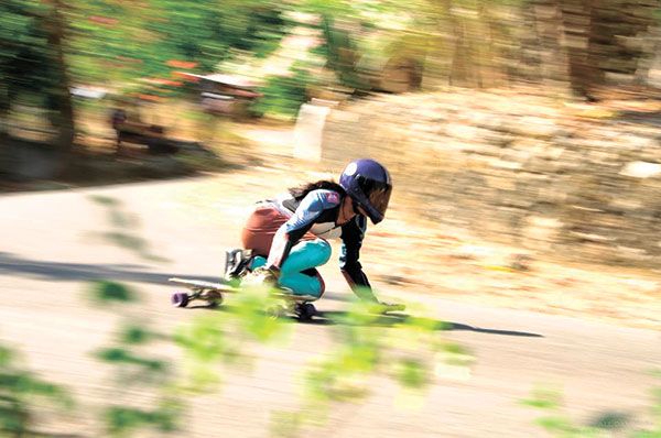 Action scene from Veggie Hill - IDF World Qualifying Race. (Photo by All Day Media)