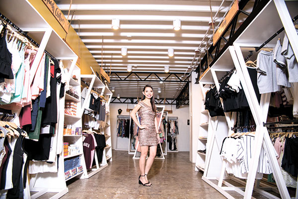 INCLUSIVE GROWTH. As her retail concept store continues to grow, Abegail Sanchez has helped many fellow local entrepreneurs in the process. Right now, the one-stop hub Emporium holds over 40 concessionaires, with 40 more brands set to open this May.