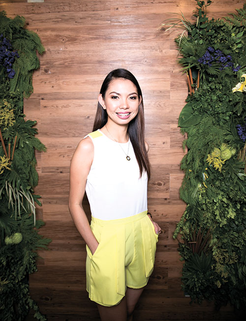"BIZ SAVVY. Abegail Sanchez has come up with a retail concept store to promote online and upcoming brands that are 100 percent locally made. She says the concept store ""cultivates an experience that cannot be recreated online."""