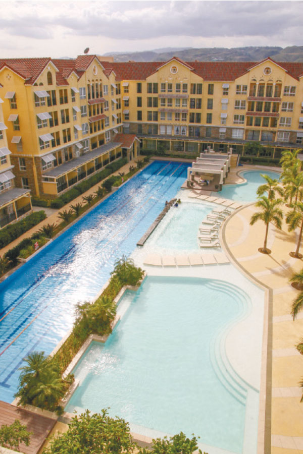 These refreshing pools at Amalfi spell relaxing and leisurely living. Amalfi is one of the residential offerings of the 50-hectare City di Mare, a self-contained green coastal community that's set to be Cebu's lifestyle capital.