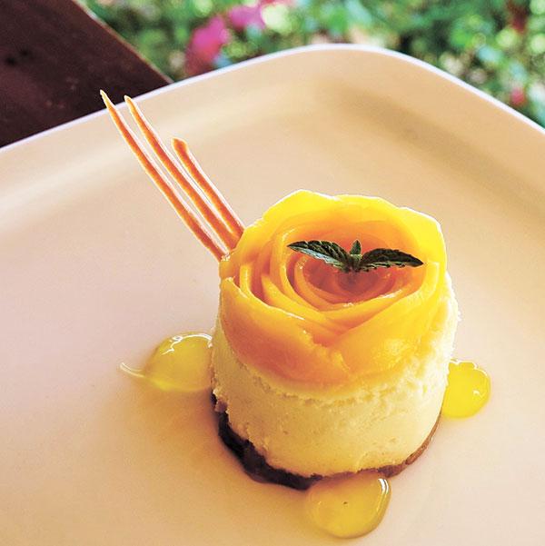 Mango Cheesecake
