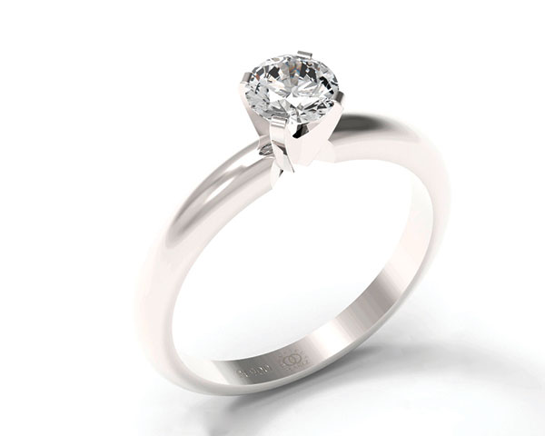 Personalized platinum rings express every couples unique love story