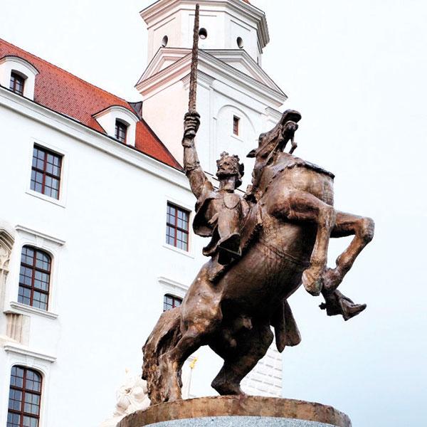 Charles IV at Bratislava Castle