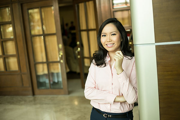 ROOM FOR GROWTH. Though she's been grommed early on to run a hotel business, Shannen Keisha Tan knows there's much to learn in a challenging industry. She looks forward to gaining more experience and making room for more growth professionally and personally.