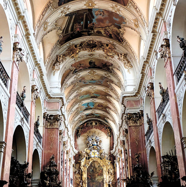 The Basilica of St. James the Greater Interior
