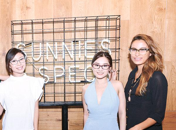 Gillian Uang, Nicole Li and Natacha Rosenthal