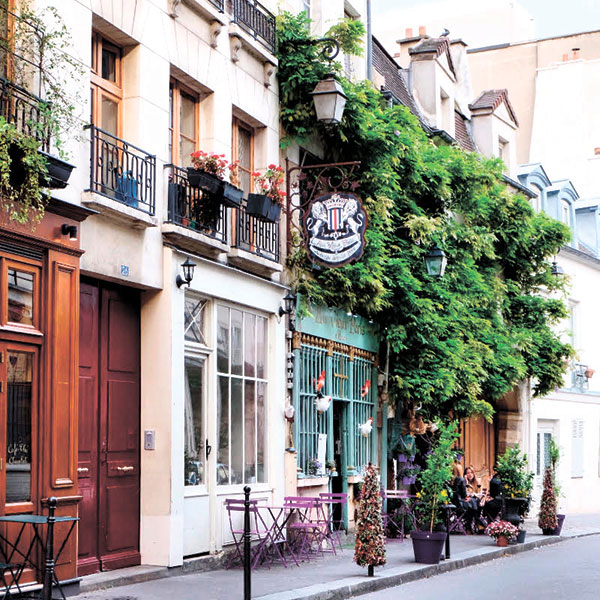 Typical French Cafes