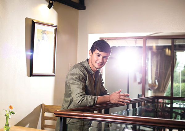 A MAN AND HIS ROOTS. Matteo Guidicelli has gone a long way from being a karting sensation to a multi-talented celebrity performer. What makes Matteo even more appealing is that while he feels the need to be on the go, he always finds his way back home.