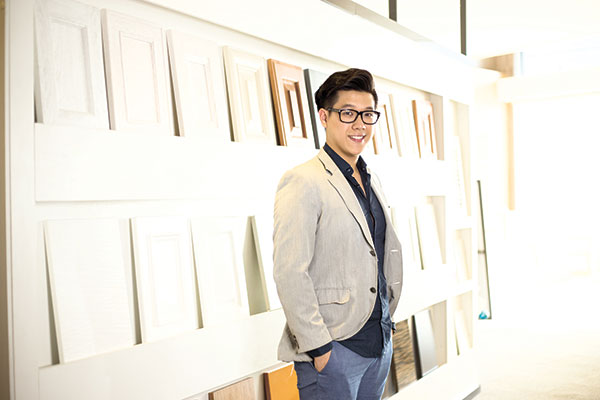 BUILDING BIG OR SMALL. Drawing inspiration from iconic Lego pieces, Ed Chua now has his hands full creating modular furniture, while designing architectural projects as well.