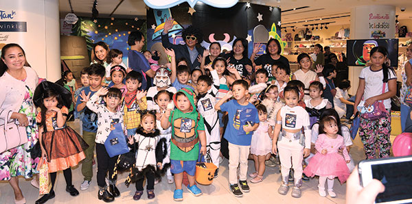 Galactic Adventure, an out-of-this-world Halloween party at Rustan's Ayala Center Cebu