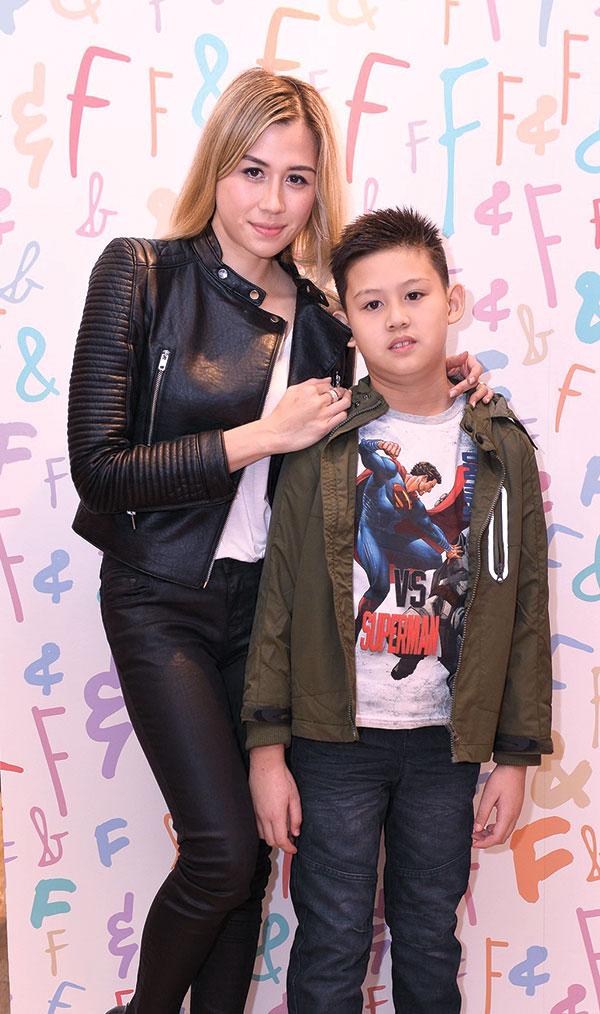 Jenifer Martinez with son Tino