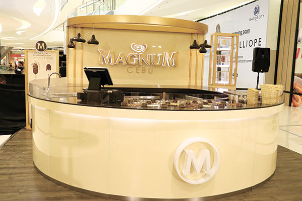 A must try ice cream diy weekend for Magnum pop up store
