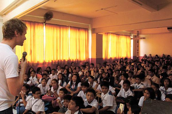 At Saint John The Baptist in Taytay, Rizal
