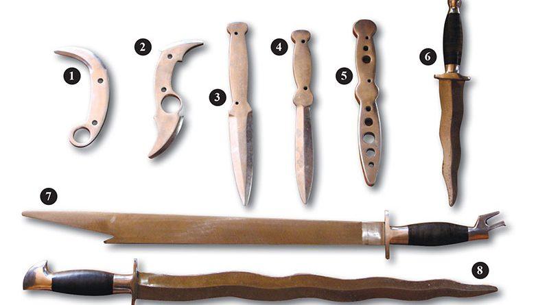 How blacksmiths make customized knives