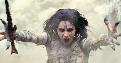 "Sofia Boutella appears in a scene from ""The Mummy."""
